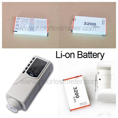 3200mAh Rechargeable Li-ion battery with long-span